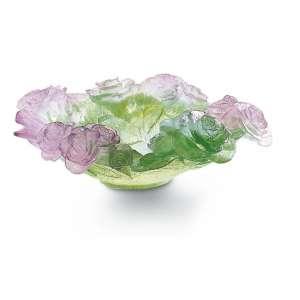 Schale 27 cm rosa/grün