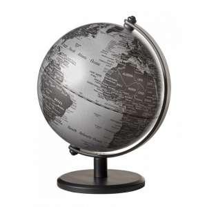 Mini-Globus matt silber