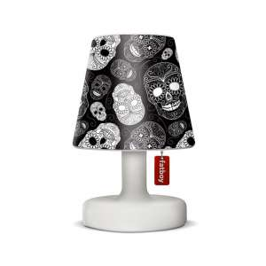 Lampenschirm Skull black