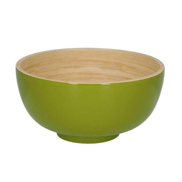 Schüssel 16 cm Lack olive
