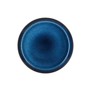 Frühstücksteller 21 cm schwarz/dunkelblau