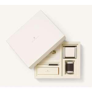 Schreibtischaccessoires-Set klein dunkelbraun
