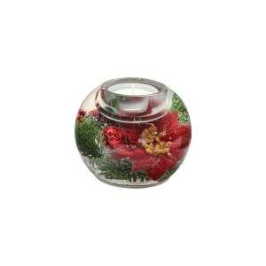Teelicht Winter Rose