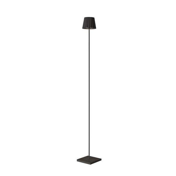 Standleuchte LED 120 cm dimmbar schwarz