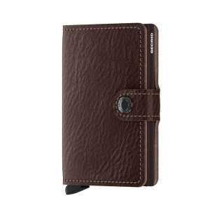 Miniwallet Vegetable Tanned espresso