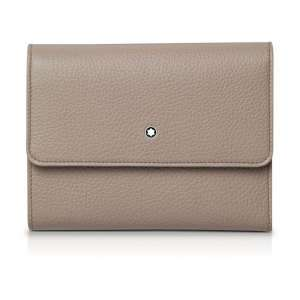 Brieftasche 6 cc Soft Grain, beige
