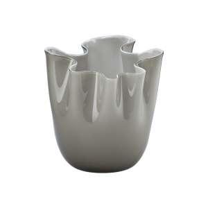 Vase 31 cm grau