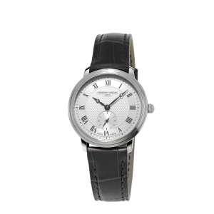 Armbanduhr Ultra Slim Damen Quarz Edelstahl