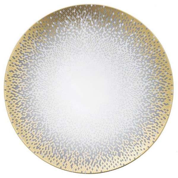 Platzteller 32 cm gold