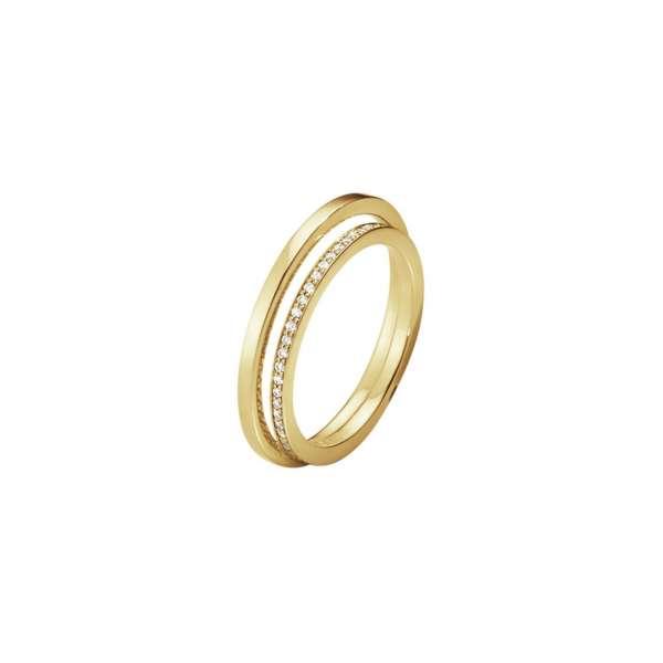 Ring W54 Brillanten 0,20 ct Gelbgold 750
