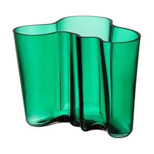 Vase 16 cm smaragd