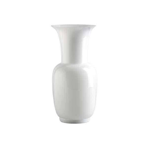 Vase 36 cm milchweiß