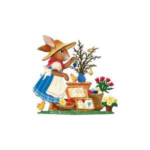 Hasenmarktfrau Ostereierstand