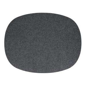 Tischset oval 45x35 cm anthrazit 01