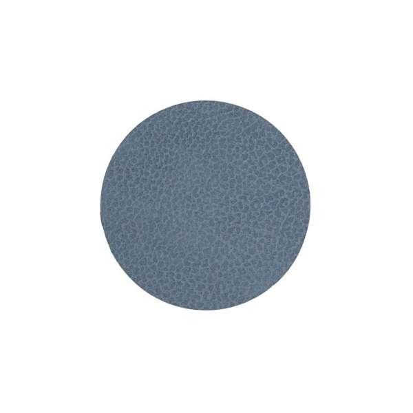Glas Untersetzer 10 cm Hippo hellblau