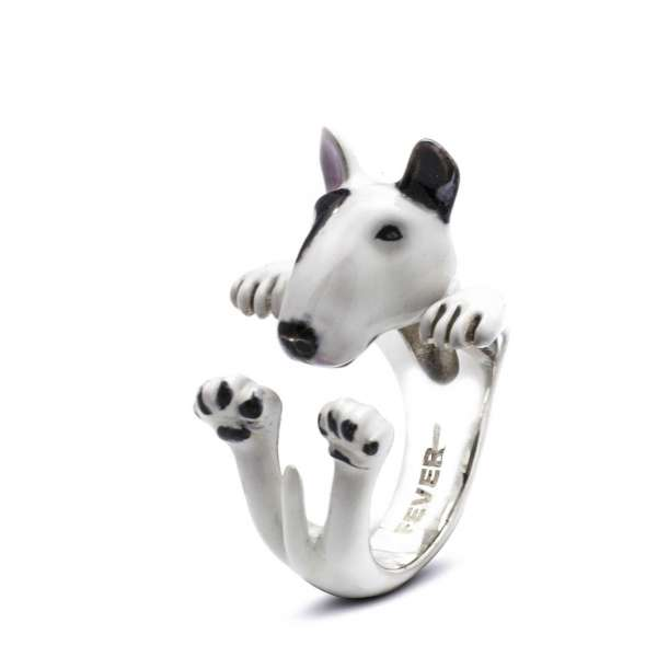 Ring Bullterrier Sterlingsilber 925 L