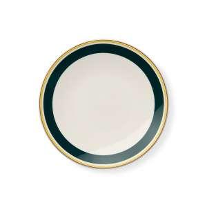 Frühstücksteller 24 cm grün/gelb