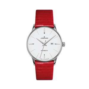Armbanduhr Meister Damen Automatic Eidechse rot