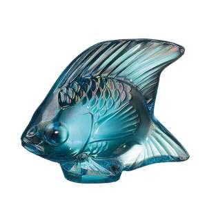 Fisch türkis glänzend 'Poisson'