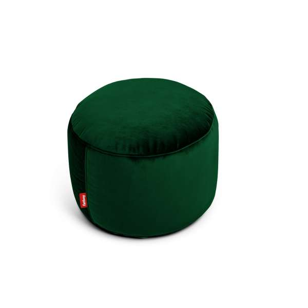 Hocker emerald grün