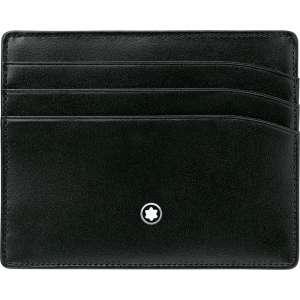 Kreditkartenetui 6 cc, schwarz