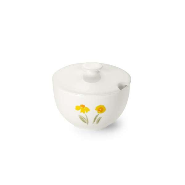 Zuckerdose rund 0,25 l gelb