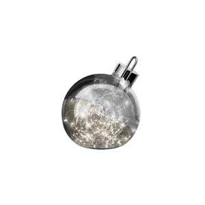 Dekoleuchte Ornament 25 cm smoke
