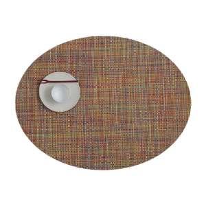 Tischset 36x49 cm oval Confetti