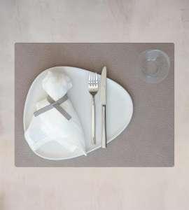 Tischset 35x45 cm Hippo warm gray