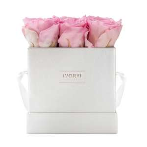 Flowerbox medium, blush rose