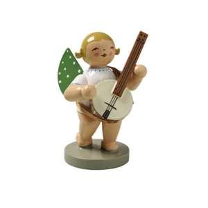 Engel m. Banjo