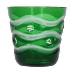 Becher Muschel B grün