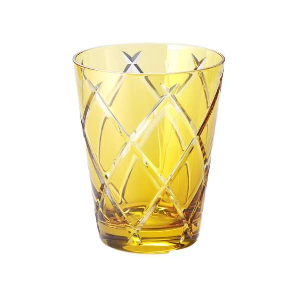 Universalglas 0,33 l goldamber cross