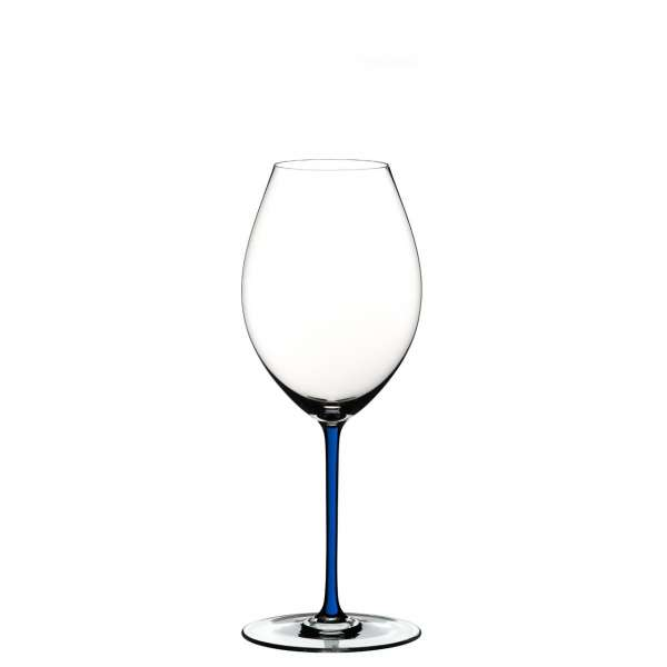 Syrahglas dunkelblau
