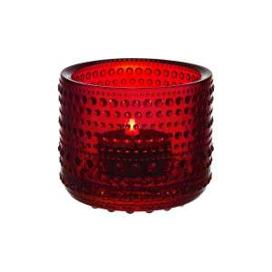Windlicht 6,4 cm cranberry
