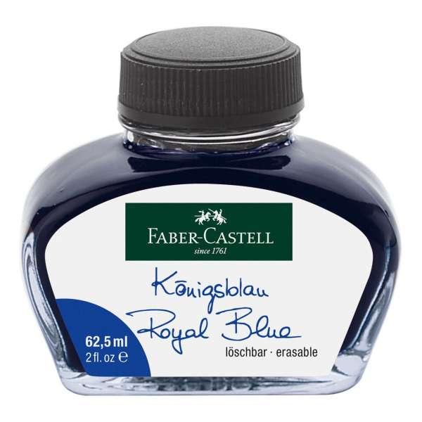 Tintenglas blau