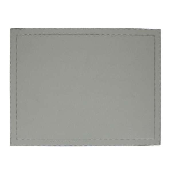 Schreibtischauflage 38,5x50 cm Golf grau Naht grau