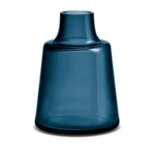 Vase kurzer Hals 24 cm blau