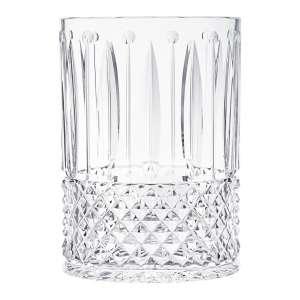 Vase 28x20x14,5 cm oval klar