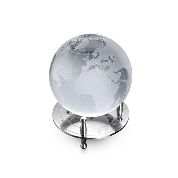 Globus mit Stand