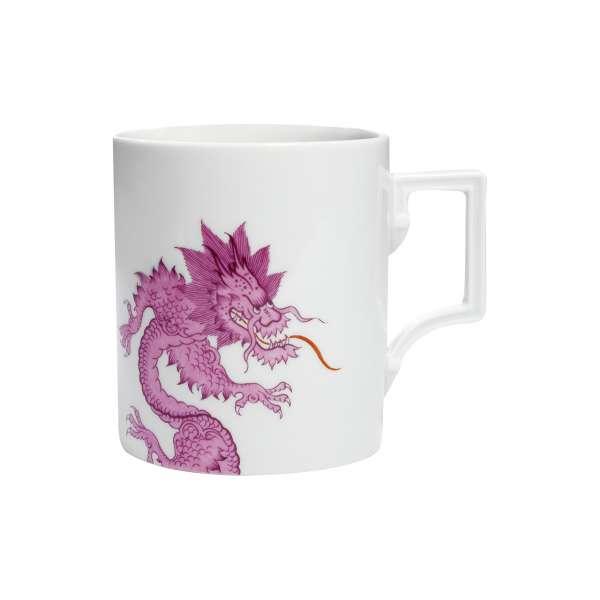Becher m. Henkel 0,25 l Ming Dragon Purpur