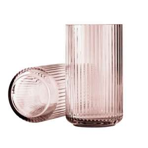 Vase 25 cm burgunder