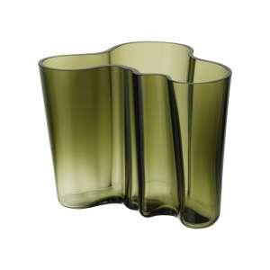 Vase 16 cm moosgrün