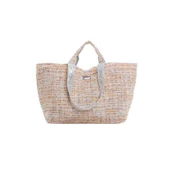 Half Size Bag sand/white