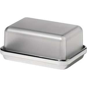 Butterdose 16,5 cm grau
