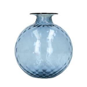 Vase 24,5 cm grape/blutroter Faden