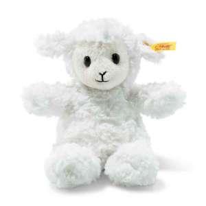 Lamm Fuzzy 18 cm, weiß