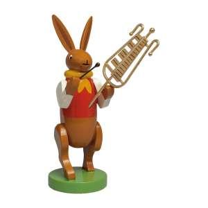 Hasenmusikant m. Glockenspiel