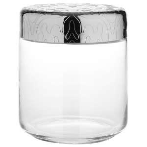 Dose 0,75 l/12,3 cm Edelstahl/Glas