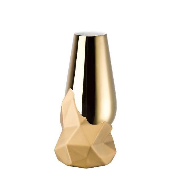 Vase 27 cm gold
